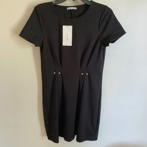 *NWT* Zara Shift Dress with Pearl Detail